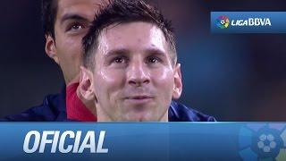 Messi se convierte en el máximo goleador de la historia de la Liga BBVA