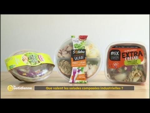 Que valent les salades composées industrielles ? - La Quotidienne