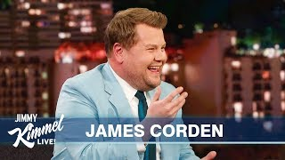 James Corden on Kanye, Cats & Doing an American Accent Video