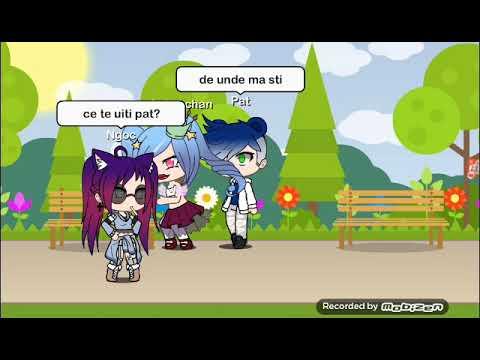 O fata rea ll gacha life Romania ll