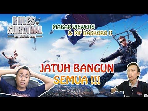 JATUH BANGUN CARI AYAM with MFBaskoro !! - Rules of Survival Indonesia