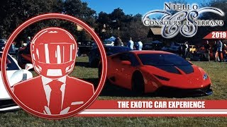 2019 Niello Concours at Serrano- The Exotic Car Experience 2019