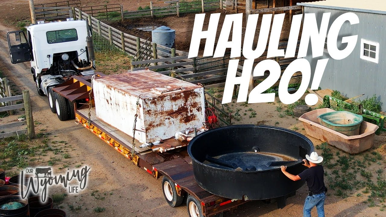 Time to start hauling water