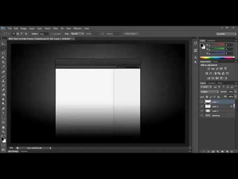 How To Make Your Own Youtube 2012 Channel Background Template
