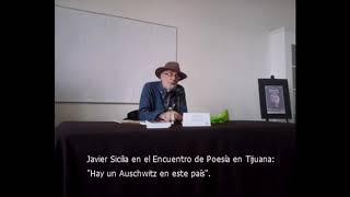Javier Sicilia en el Encuentro de Poesía en Tijuana