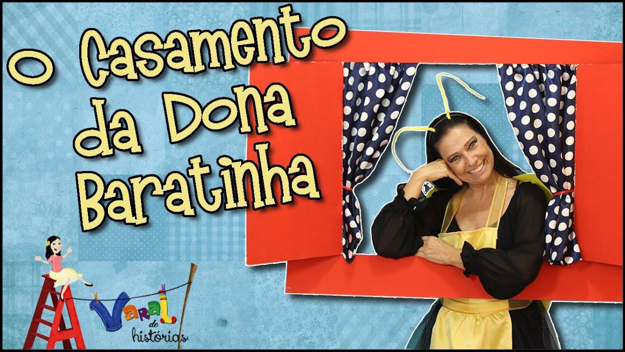 Preferência Dona Baratinha - Varal de Histórias - YouTube EF11