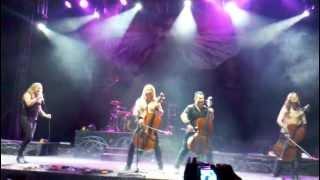 I Don't Care - Apocalyptica - Live Bogota enero 2012