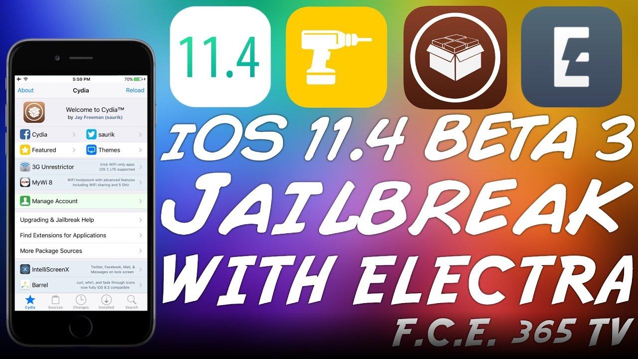 ios 11 4 beta 3 jailbreak