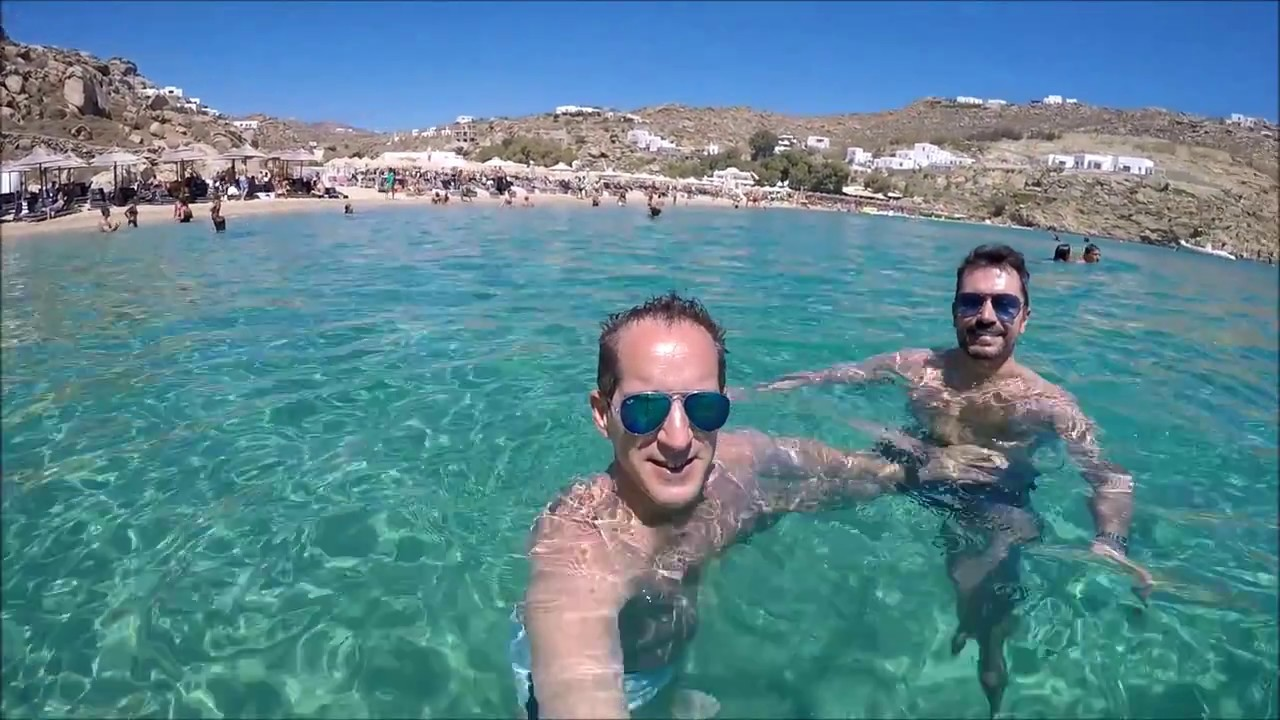 Gopro Mykonos  Elia  Superparadise Beaches - Summer 2016 -2727