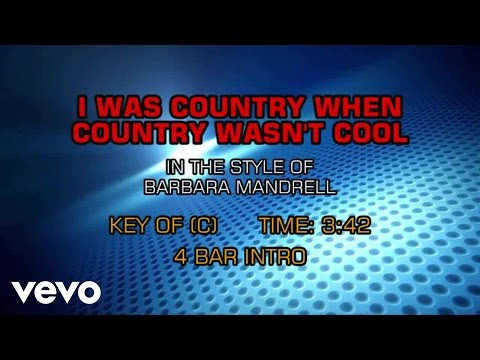 Barbara Mandrell - I Was Country When Country Wasn't Cool (Karaoke)