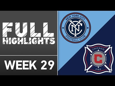 HIGHLIGHTS:  New York City FC 4-1 Chicago Fire
