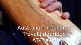 Australian Treasures Travel Didgeridoo - AT-Travel including Bag video
