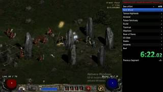 Diablo II: LoD Paladin normal HC speedrun