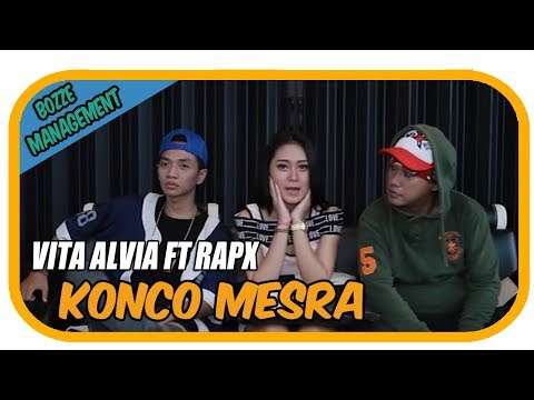 VITA ALVIA FEAT RapX - KONCO MESRA [ OFFICIAL MUSIC VIDEO ]