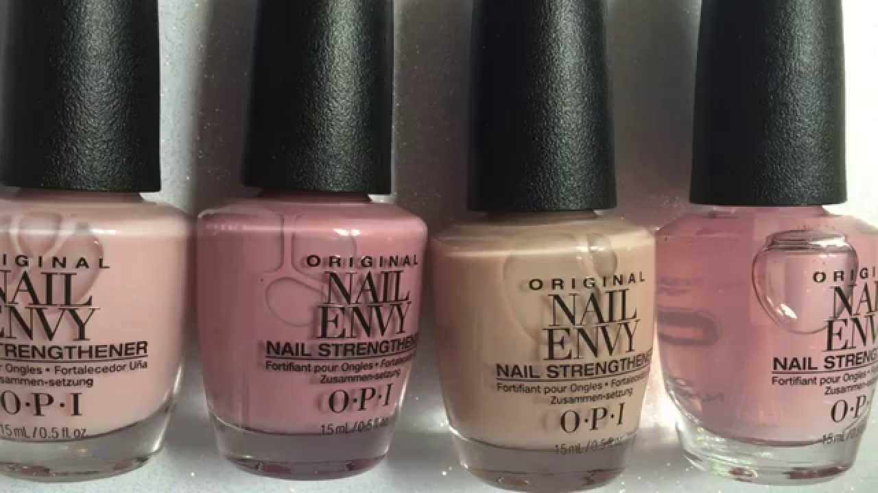 OPI Strength and Color Review - YouTube