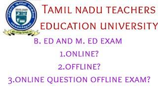 tnteu exam updates tamil