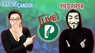 CryptoCandor & The Pied Piper Coin | Live!