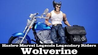 Marvel Legends Legendary Riders Wolverine with Motorcycle Hasbro Logan Review