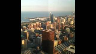 Sears tower view of chicago from the 67th floor