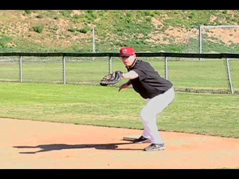 Baseball fielding:  How to Hold Runners at First Base
