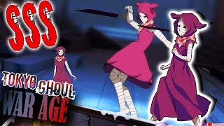 SSS ETO (CLOAK) SHOWCASE & GAMEPLAY! // Tokyo Ghoul War Age / 东京战纪 - Android