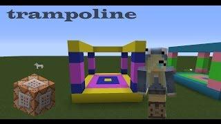 Механизмы. Как сделать батут в minecraft
