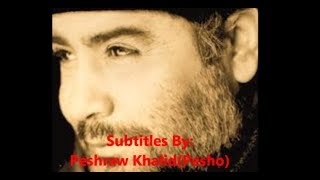 Ahmet Kaya Yakamoz [Lyrics; Kurdish,English,Turkish]