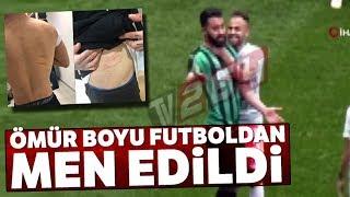 Amedsporlu Mansur Çalar'a Futboldan Men Cezası