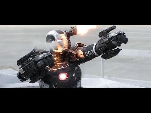 War Machine - Fight Moves & Flight Compilation HD thumbnail