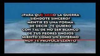RICARDO ARJONA _ MENTIROSO_ KARAOKE