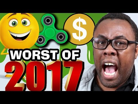 WORST OF 2017 - Black Nerd RANTS