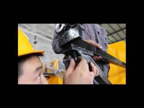 CNC stirrup bending machine installation video