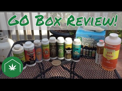 General Organics GO Box Cannabis Review