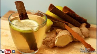 How To Lose Weight With Cinnamon Tea Ginger Lemon Honey Drink | Recipes By Chef Ricardo