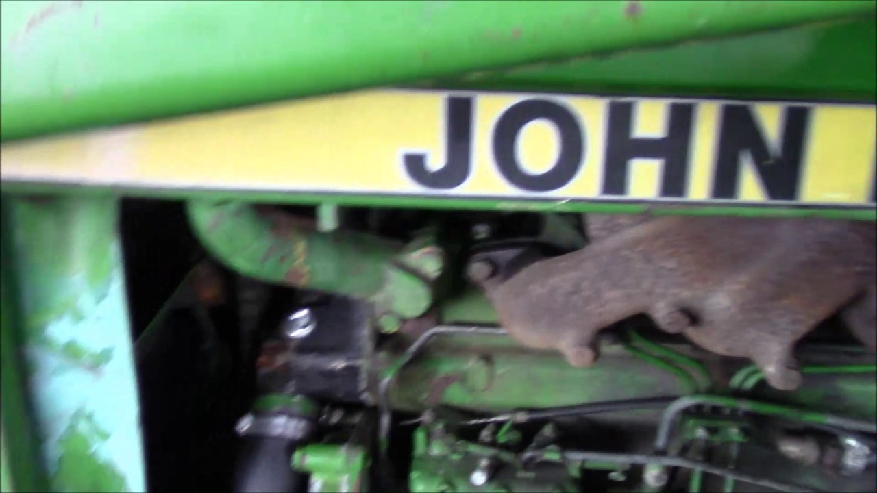 john deere 2750 hard starting issue starter water pump trials [ 1280 x 720 Pixel ]