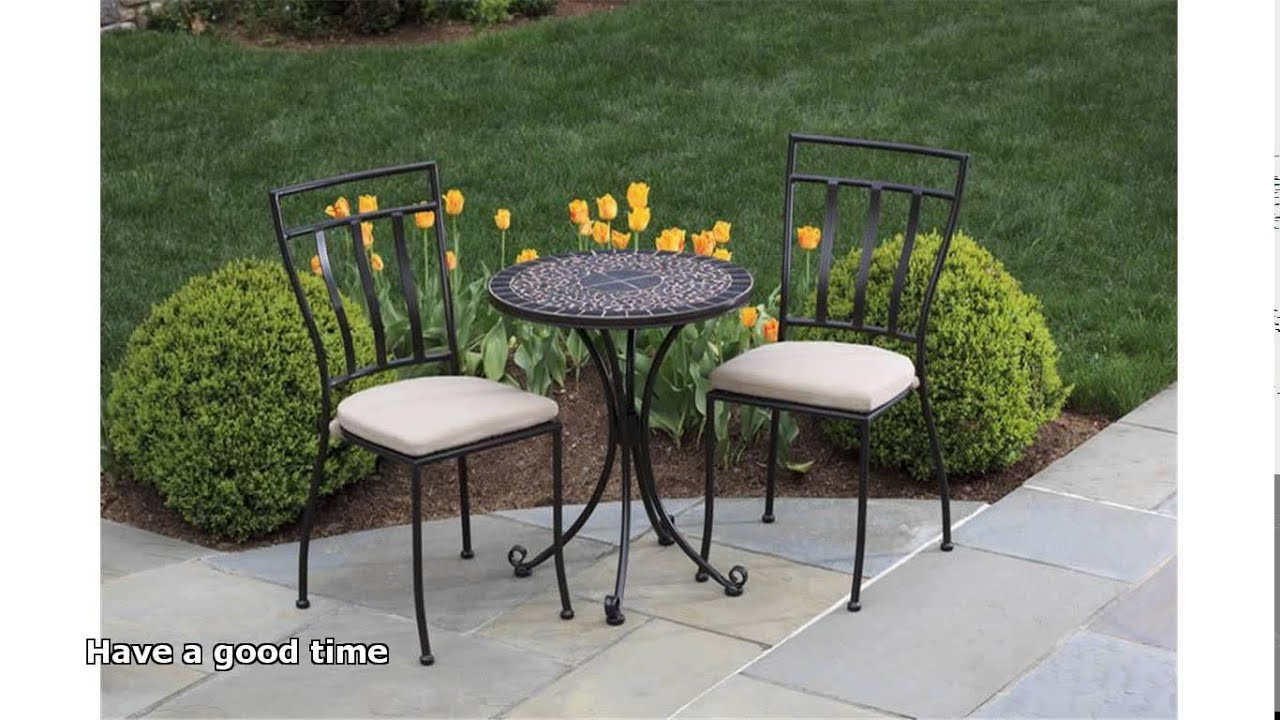 Charming Steel Garden Furniture Youtube