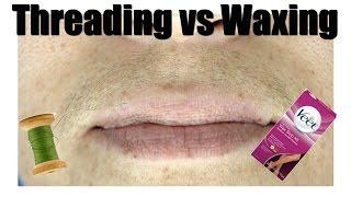 Threading VS. Waxing the UPPERLIP