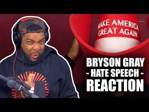 "HE WENT WAY TOO HARD! Bryson Gray   ""Hate Speech"" REACTION"