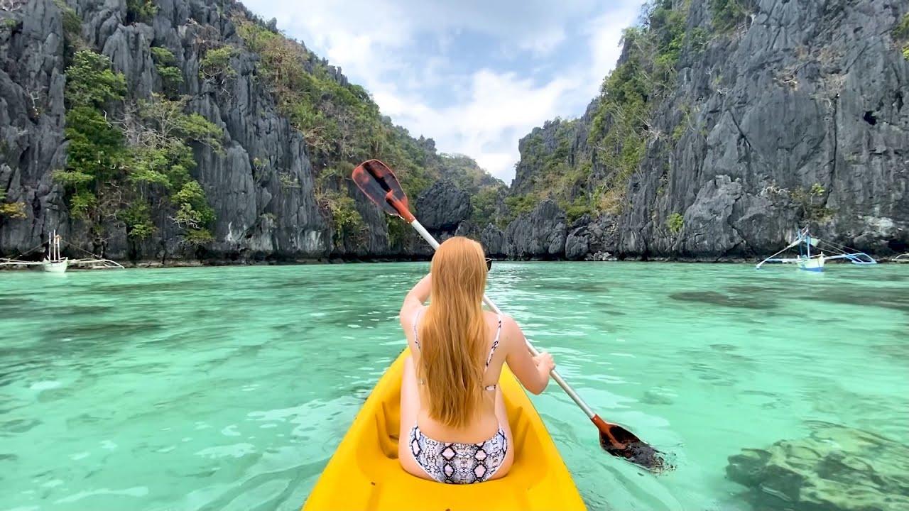 Snake Island, Taraw Cliff and Small Lagoon - El Nido, Philippines