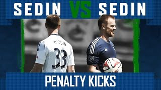 Sedin vs Sedin - Penalty Kicks (episode 1)