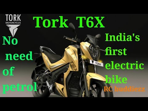 NO NEED OF PETROL / TORK T6X INDIAS FIRST ELECTRIC BIKE/ BATTERY/ by Rc buddiezz