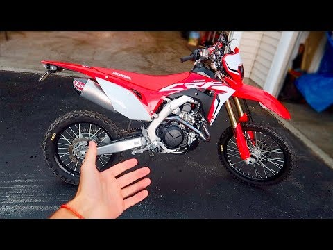 THE CRF450L IS COMING TOGETHER
