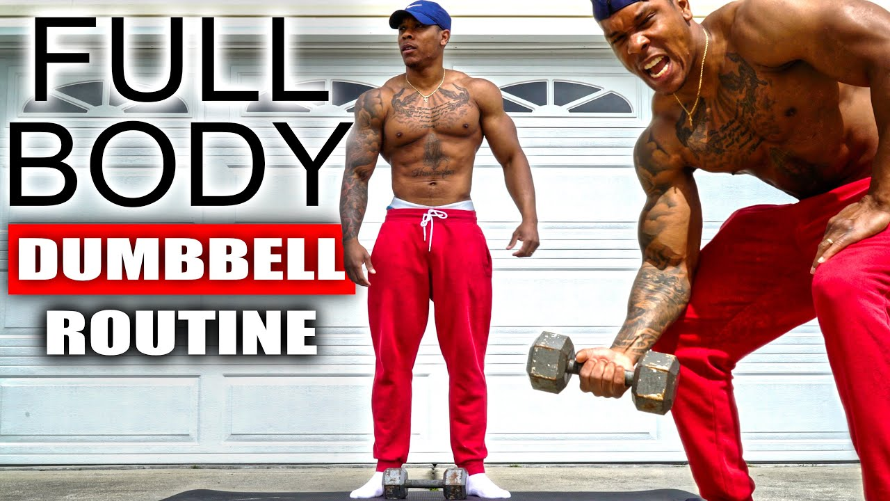 Download 10 MINUTE FULL BODY WORKOUT (DUMBBELL)