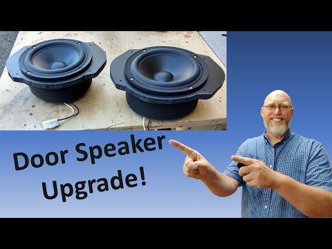 How to Install Door Speakers:  Dodge Ram, Three Way Front Stage Part 4!