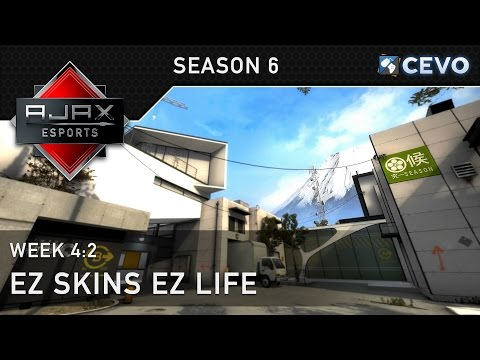 CEVO-M S6 Match w/Comms - Ajax vs ez - Season [CS:GO]