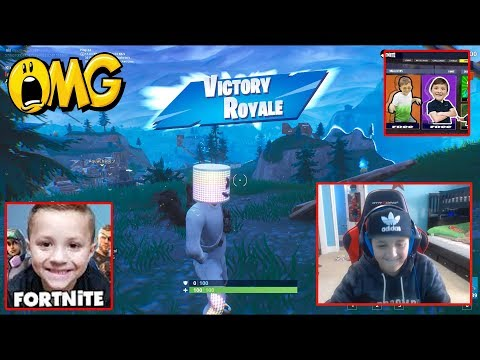 ME AND CHASES INSANE FORTNITE VIDEOS PLAYED THE MARSH  EVENT! Klipp the clutch