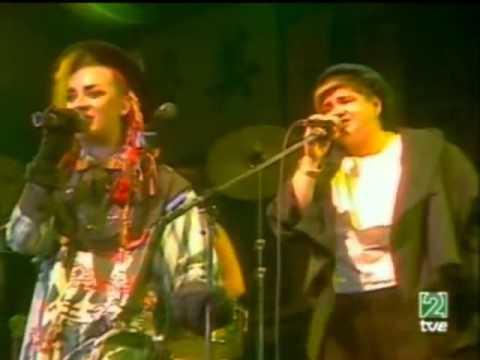 Culture Club Karma Chameleon Live 1983 With Legend