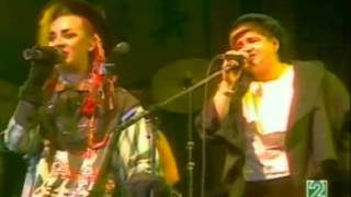 Culture Club Karma Chameleon Live 1983 With Legend
