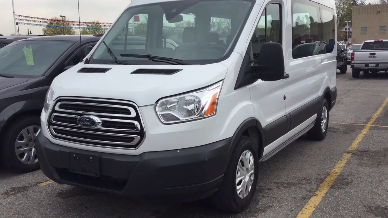 vans 8 passenger seating