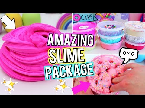 HUGE SLIME PACKAGE UNBOXING! Is it worth the MONEY? Testing Instagram Slime I Bought ONLINE!